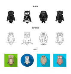Animal and tattoo icon set vector