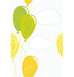 Celebration card vector