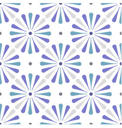 Cute tile pattern vector