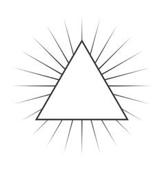 frame monochrome elegant icon vector image