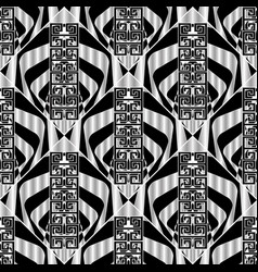 geometric greek seamless pattern vector image