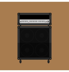 Guitar amplifier 2 vector