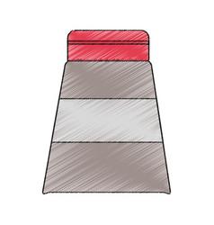 Isolated hair cream design vector