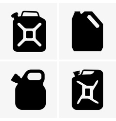 Jerrycans vector