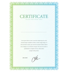 Template certificate currency and diplomas vector