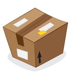carton package vector image