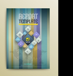 Brochure Design Templates Abstract Flyer Modern vector image