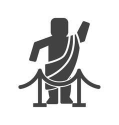 Greek God vector image