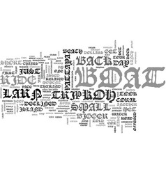 a day at koh larn text word cloud concept vector image