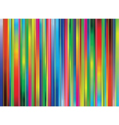 Abstract background with rainbow lines vector