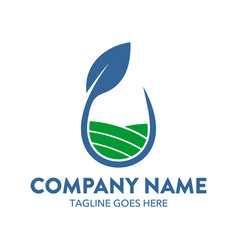 agriculture logo-12 vector image