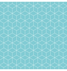 cube pattern background vector image