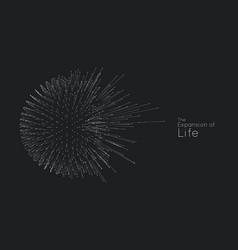Expansion life sphere explosion vector