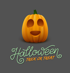 halloween trick or treat vector image