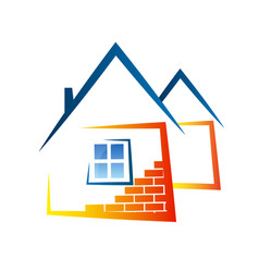 Real estate abstract symbol vector