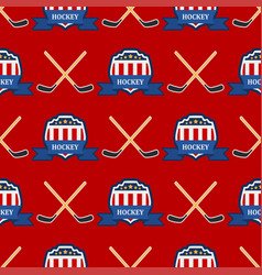 sport game hockey team play tournament vector image