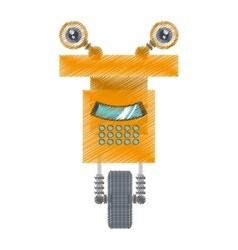 Drawing robot operator technology artificial vector