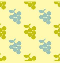 grape simple seamless pattern vector image