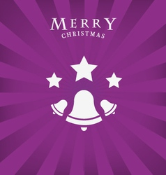 Merry christmas icon vector image vector image