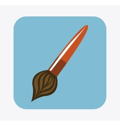 brush design vector image