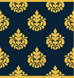 arabic vintage decorative design seamless pattern vector image vector image
