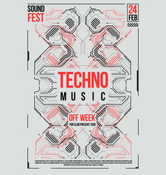 Cyberpunk futuristic poster retro futuristic vector
