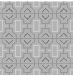 Geometric abstract oriental seamless pattern vector image