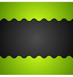Green and black corporate background vector