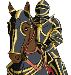 knight 2 vector image