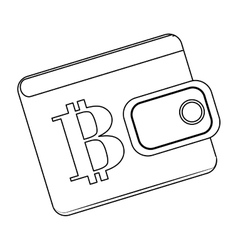 Letter B as emblem bank related icons image vector