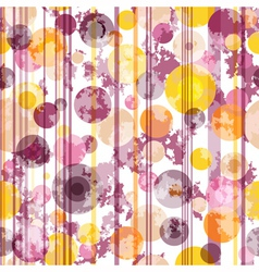 Seamless spotty striped pattern vector