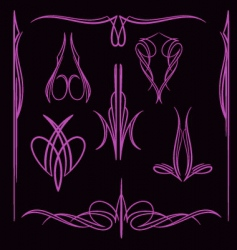pinstripe012 vector image vector image