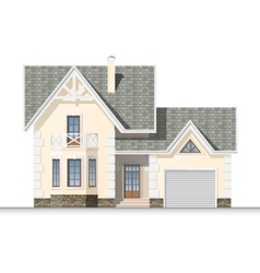 dream house vector image