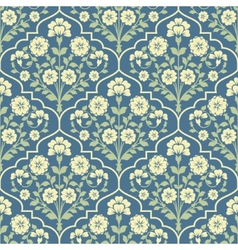 Seamless pattern in vintage stile vector image