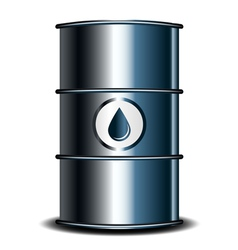 oil barrel vector image vector image
