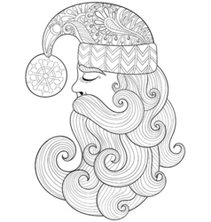 Hand drawn A4 size Eps10 vector image vector image