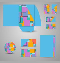 Carton packaging box isometric packaging vector