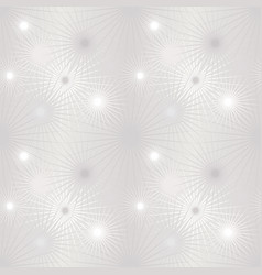 Floral blur pattern winter snow monochrome nature vector