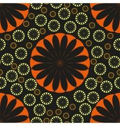 Flower Seamless Pattern Seamless texture vector image