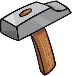 Hammer clip art cartoon vector
