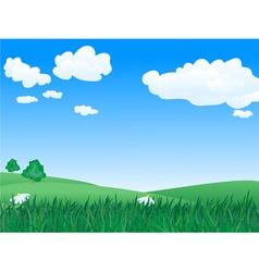 landscape 1 vector image