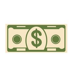 money paper banknote vector image
