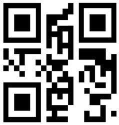 Qr code says FREE SHIPPING vector