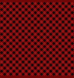 Red and black argyle harlequin seamless pattern vector