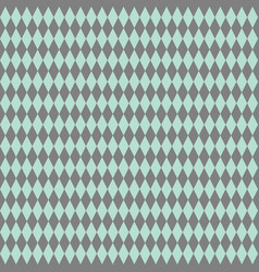 Tile pattern or mint green and grey wallpaper vector
