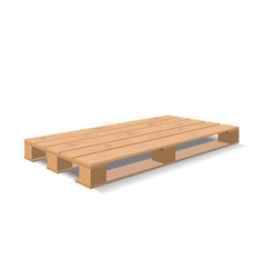 warehouse pallet vector image