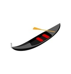 Gondola icon isometric 3d style vector image vector image