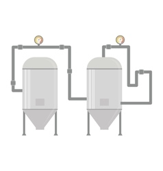 water heater tank icon vector image