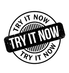 Try it now rubber stamp vector