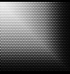 Abstract halftone geometric background vector